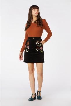 Hazel Geo Cord Skirt