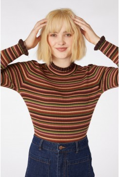 Esther Stripe Knit Top