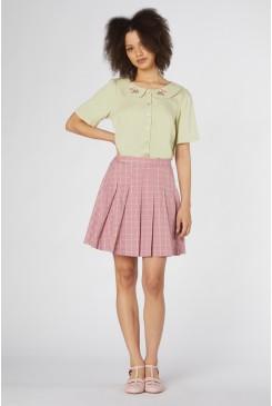 Tabitha Check Mini Skirt