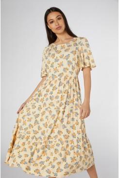 Ida Ditsy Midi Dress