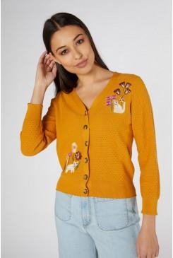 Fleur Embroidered Cardi