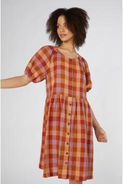 Prairie Check Dress