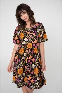 Wild Garden Smock Dress