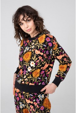 Wild Garden Fleece Sweater