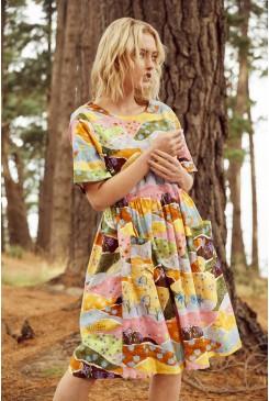 Daisy Landscape Dress