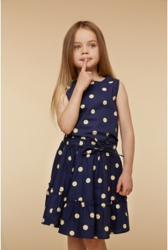 Primrose Spot Twirly Skirt