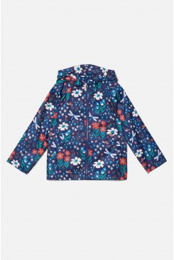 Summertime Garden Raincoat