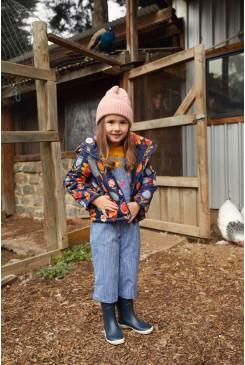 Flower Fields Puffer Jacket