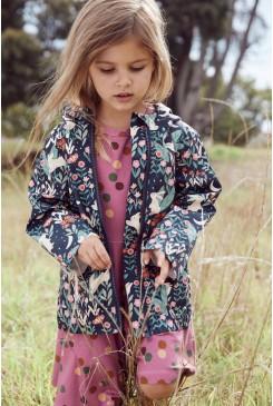 Midnight Rabbit Rain Jacket