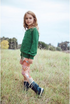 Woodland Bear Kids Legging
