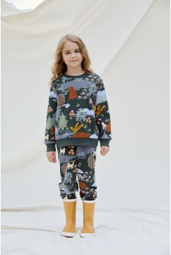 Woodland Bear Kids Sweater