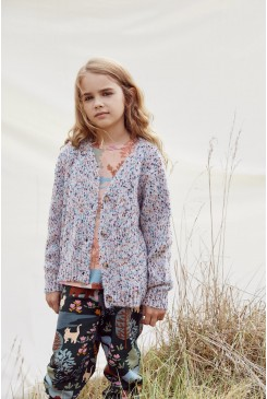 Speckled Kids Knit Cardigan