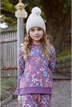 Hazel Geo Kids Sweater