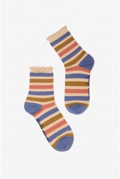 Donna Stripe Sock