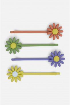 Daisy Hair Clip Set