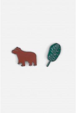 Woodland Bear Pin Set