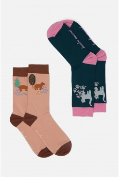 Woodland Bear Sock Set