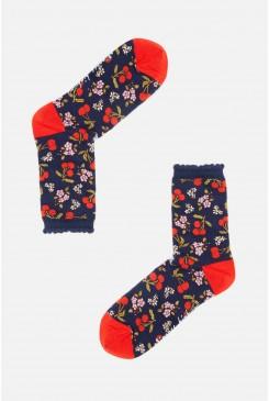 French Cherries Sock