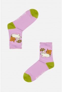Garden Rabbit Sock