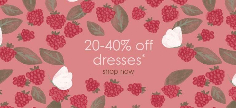 20-40%off Dresses MOBILE