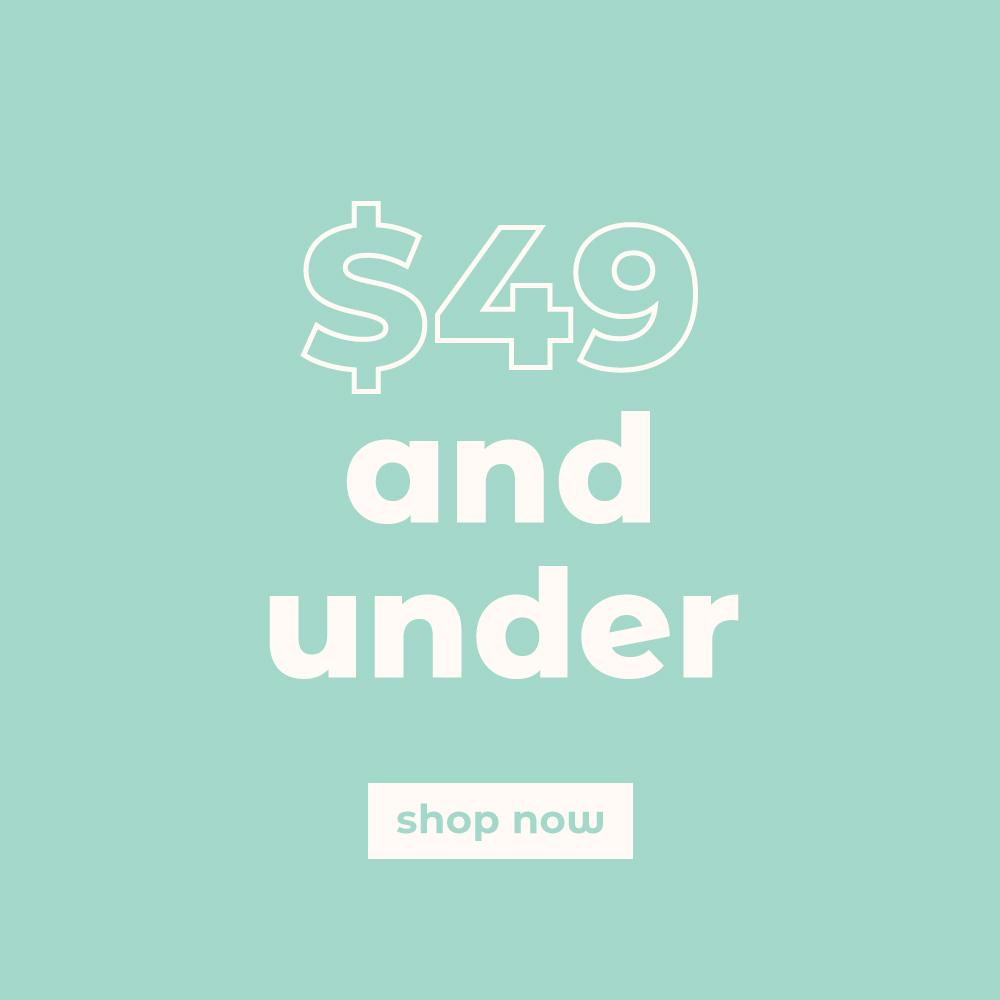 $49 & under