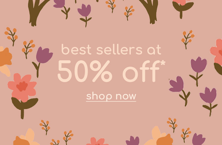 best sellers at 50%