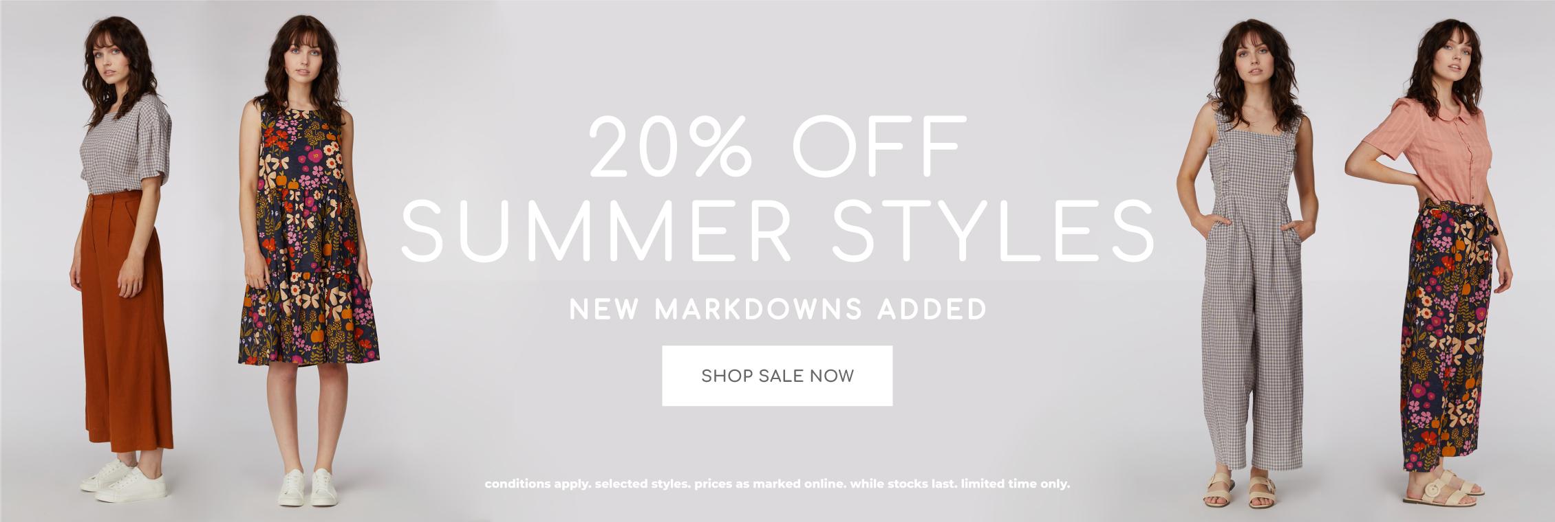 20% off summer