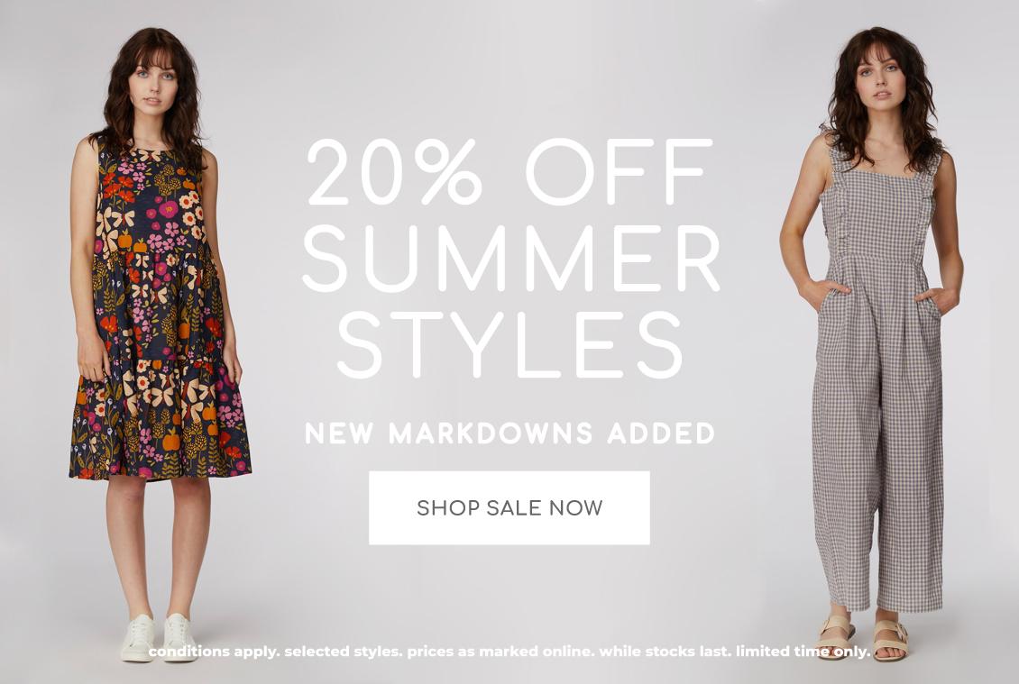 20% off summer styles