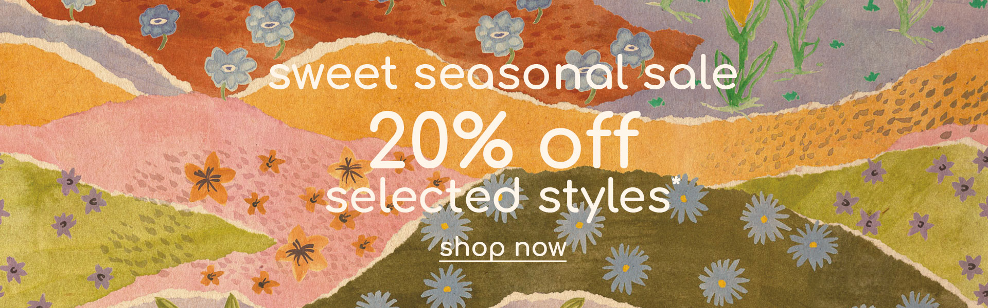 20% off selected new arrivals